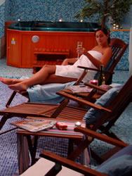 sauna whirlpool hotel heddernheimer hof. Black Bedroom Furniture Sets. Home Design Ideas